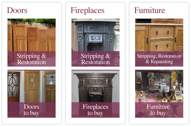 Herts Doorstripping - Bucks Door Stripping - Fireplace Stripping - Furniture Stripping